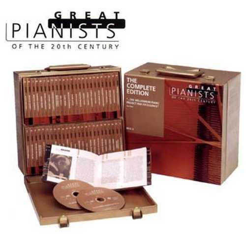 Great Pianists of the 20th Century: The Complete Edition (200CD box-set)