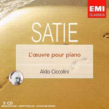 Ciccolini: Satie - L'oeuvre Pour Piano (5 CD box set, FLAC)