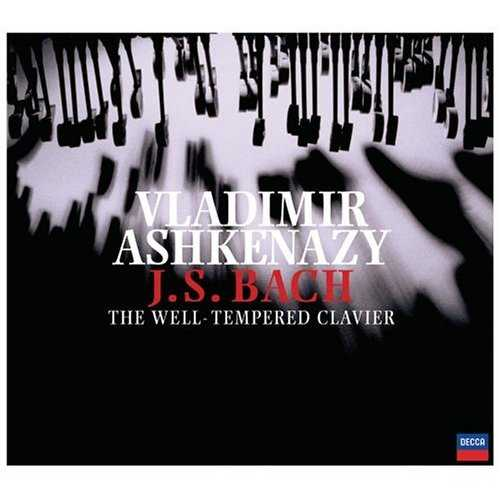 Ashkenazy: J.S Bach - The Well-Tempered Clavier (3 CD, APE)