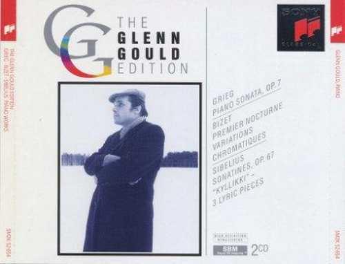 Glenn Gould Edition: Grieg, Bizet, Sibelius - Piano Works (2 CD, APE)