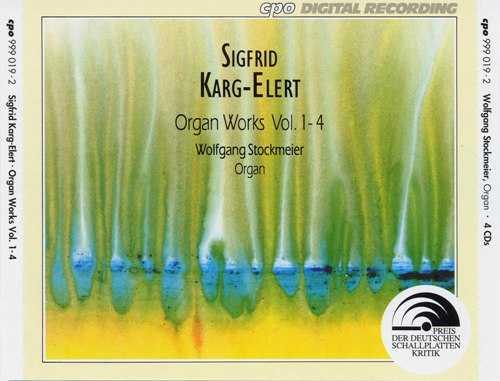 Sigfrid Karg-Elert: Organ Works Vol.1-2 (6 CD, APE)