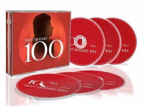 Best Mozart 100 (6 CD box set, APE)