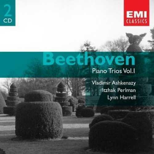 Ashkenazy, Perlman, Harrell: Beethoven - Piano Trios Vol. 1-2 (4 CD, APE)