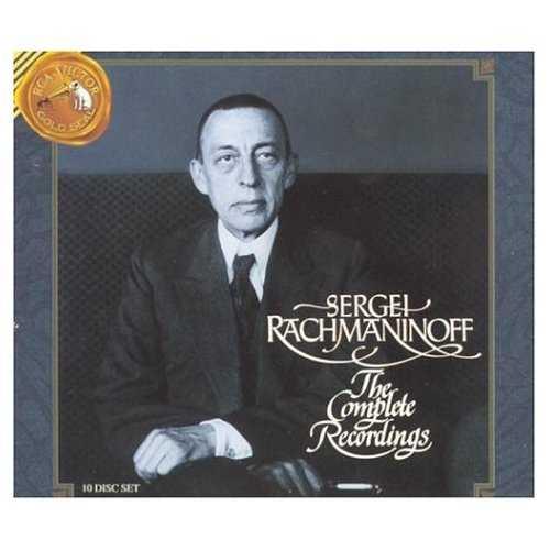 Sergei Rachmaninov - The Complete Recordings (10 CD box set, APE)