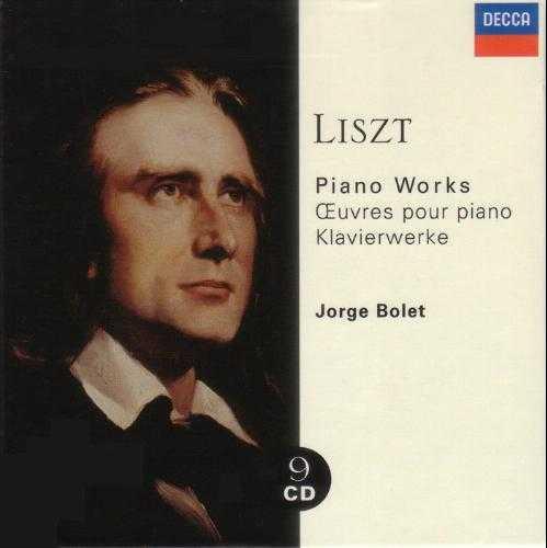 Jorge Bolet - Liszt: Piano Works (9CD boxset, APE)
