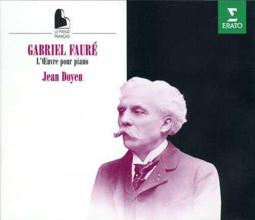Doyen: Faure - L'Oeuvre pour Piano (4 CD box set, FLAC)