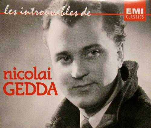 Nicolai Gedda - Les Introuvables (4CD, WAV)