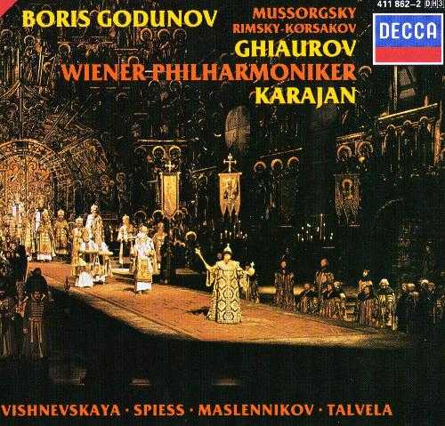Karajan: Mussorgsky - Boris Godunov, 1970 (3 CD, FLAC)