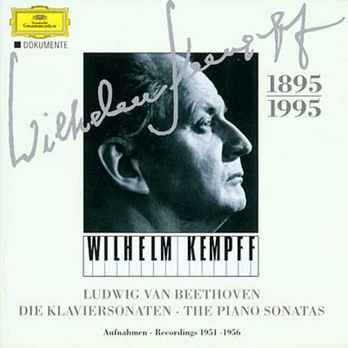 Kempff - Beethoven: The Complete Piano Sonatas (8CD boxset, APE)