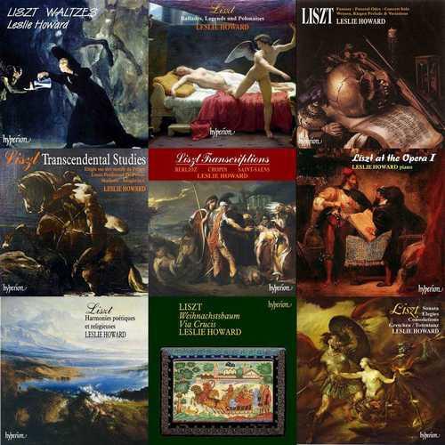 Liszt Complete by Leslie Howard (95 CD, APE)