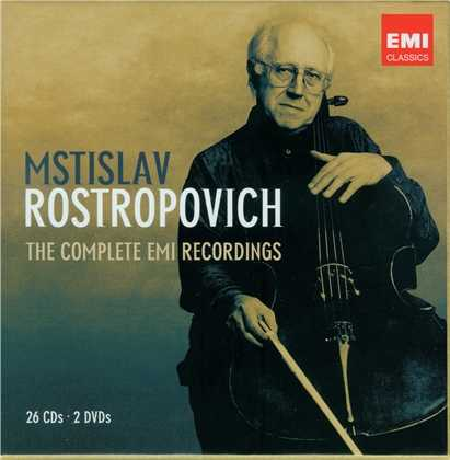 Rostropovich - The Complete EMI Recordings (26 CD box set, APE)