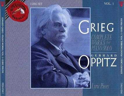 Gerhard Oppitz: Grieg - Complete Solo Piano Music (7 CD box set, APE)
