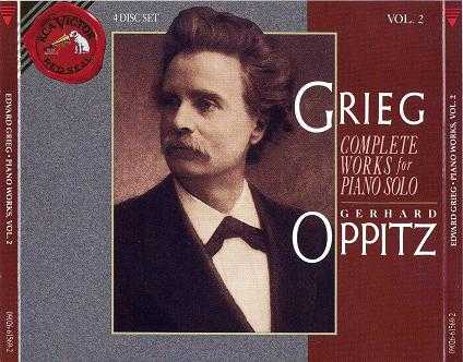 Gerhard Oppitz - Grieg: Complete Solo Piano Music (7CD boxset, APE)