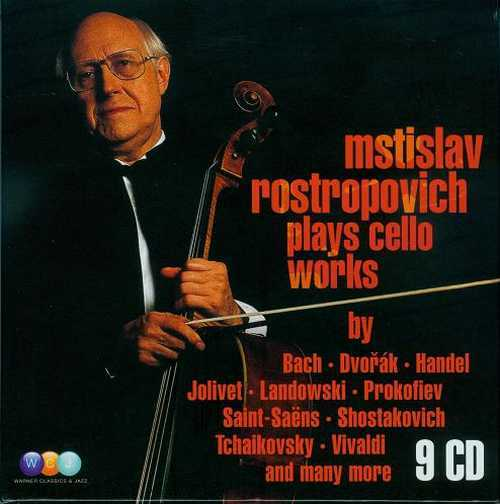 Rostropovich: Plays Cello Works (9CD boxset, APE)