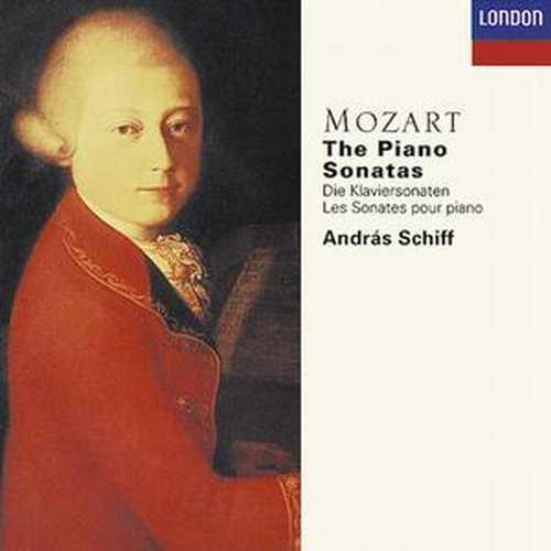 Schiff - Mozart: The Piano Sonatas (5CD boxset, APE)