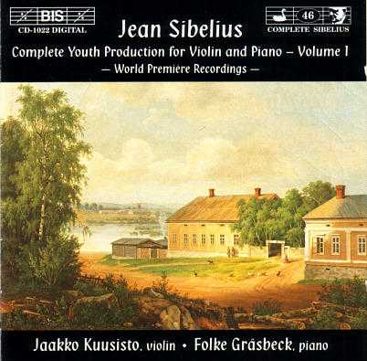 Sibelius: Complete Youth Production for Violin and Piano (2CD, APE)