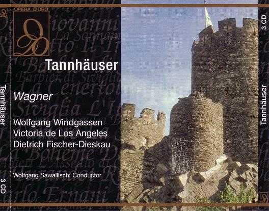 Sawallisch: Wagner - Tannhauser (3 CD box set, APE)
