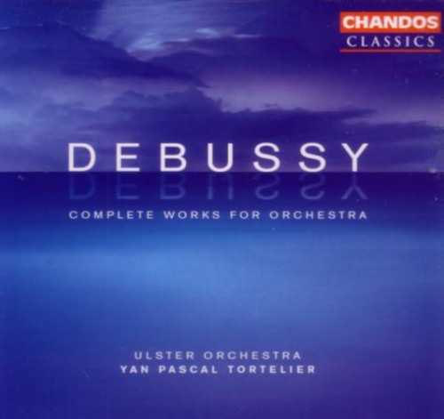 Tortelier: Debussy - Complete Works for Orchestra (4 CD, APE)