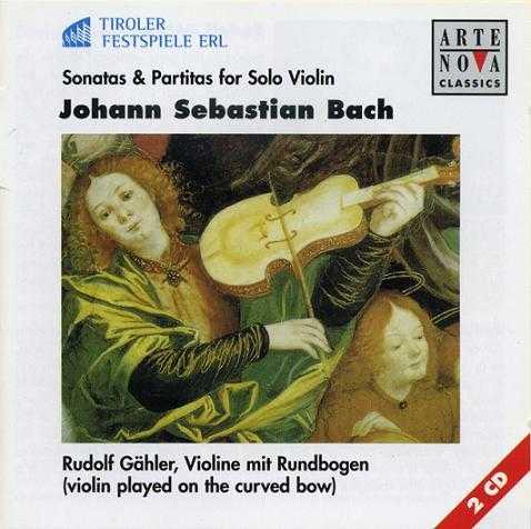 Gahler - Bach: Sonatas & Partitas for Solo Violin (2CD, FLAC)