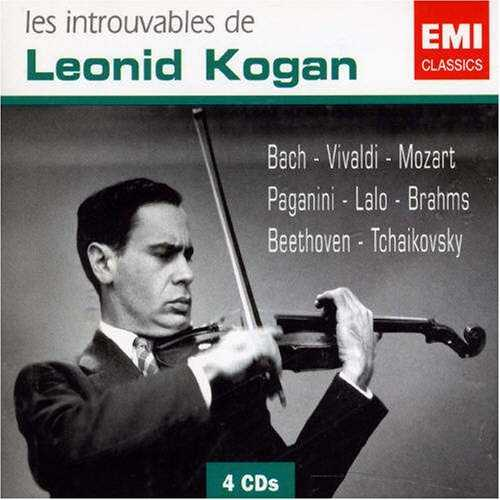Leonid Kogan: Les Introuvables (4CD, FLAC)