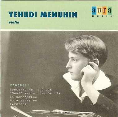 Menuhin - Paganini: Concerto for violin (APE)