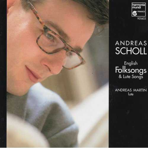 Scholl: English Folksongs & Lute Songs (APE)