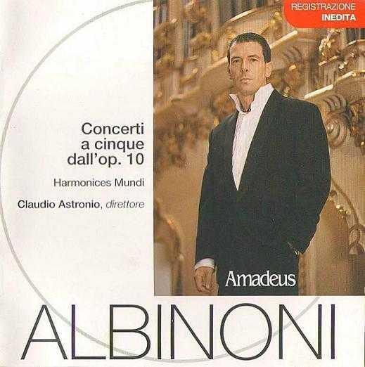 Albinoni - Concerti a cinque dall'op.10 (FLAC)