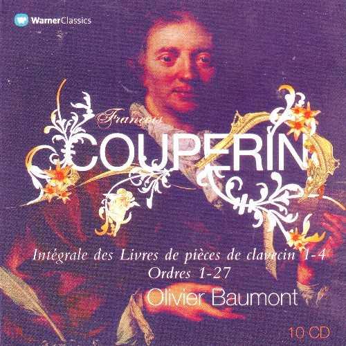 Baumont: Couperin - Integrale Des Livres De Pieces De Clavecin (10 CD box set, FLAC)