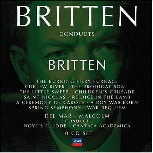 Britten Conducts Britten Vol.3 (10 CD box set, FLAC)