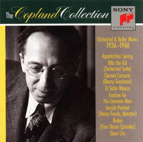 The Copland Collection: Orchestral & Ballet Works, 1936-1948 (3 CD, FLAC)