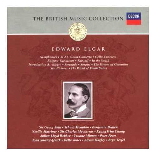Elgar: Orchestral & Choral Works; Concertos (8CD boxset, APE)