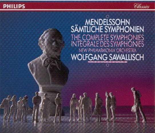 Mendelssohn: Complete Symphonies (3CD boxset, APE)