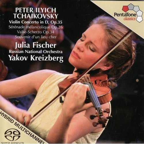 Tchaikovsky: Violin Concerto / Souvenir D'Un Lieu Cher / Serenade Melancolique / Valse - Scherzo (1CD, APE)