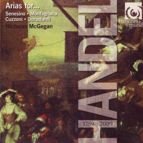 Handel: Arias for Senesino, Montagnana, Cuzzoni, Duranstanti