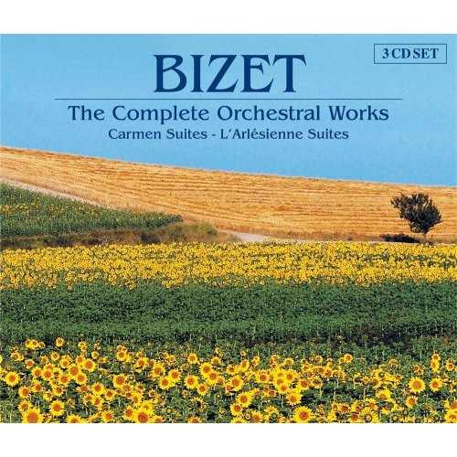 Bizet: The Complete Orchestral Works (3 CD, FLAC)
