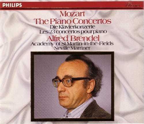 Brendel: Mozart - The Piano Concertos (10 CD box set, FLAC)