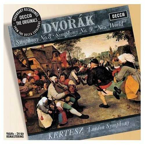 Kertesz: Dvorak - Symphony no.8 & 9 (FLAC)