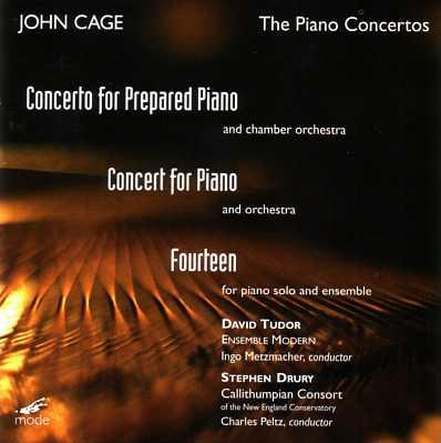 John Cage: The Piano Concertos, Fourteen (FLAC)