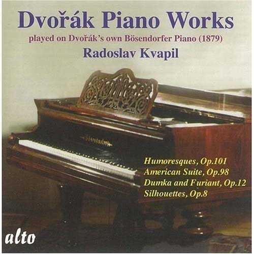 Kvapil: Piano Works Played on Dvorak's Own Bosendorfer Piano (FLAC)