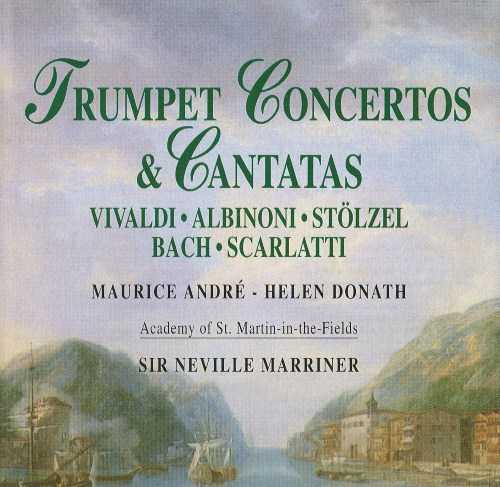 Marriner - Trumpet Concertos & Cantatas (FLAC)