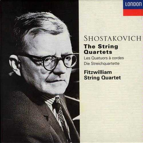 Shostakovich: The String Quartets (6 CD, FLAC)