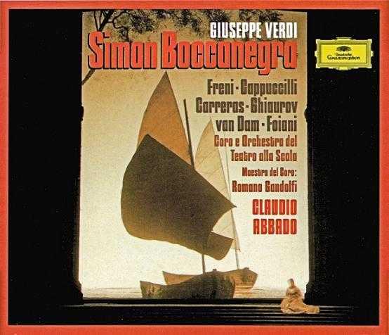 Abbado: Verdi - Simon Boccanegra (2 CD, APE)