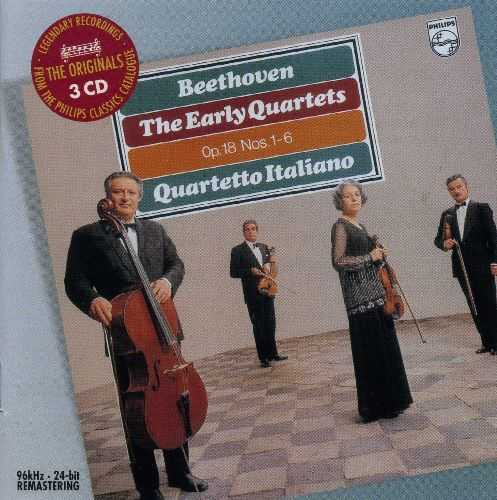 Beethoven: The Early Quartets - Op. 18, Nos. 1-6 (3 CD, FLAC)