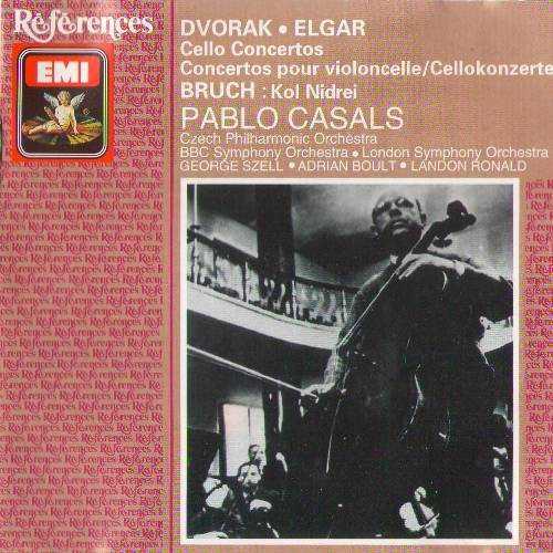 Pablo Cassals: Dvorak, Elgar - Cello Concertos; Bruch - Kol Nidrei (FLAC)