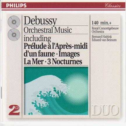 Debussy: Orchestral Music (2 CD, FLAC)