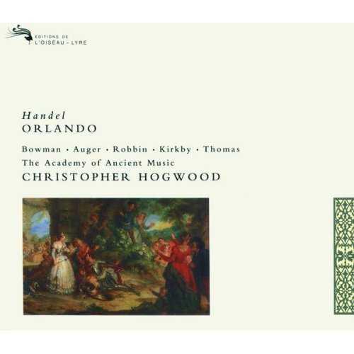 Hogwood: Handel - Orlando (3 CD, FLAC)