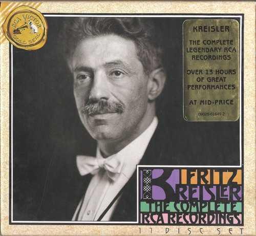 Fritz Kreisler: Complete RCA Recordings (11 CD box set, APE)