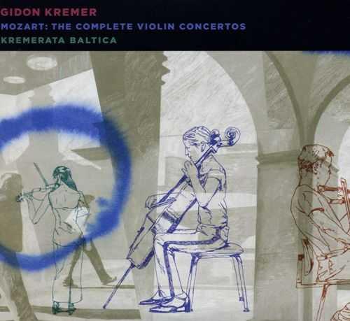 Gidon Kremer: Mozart - Complete Violin Concertos (2 CD, FLAC)