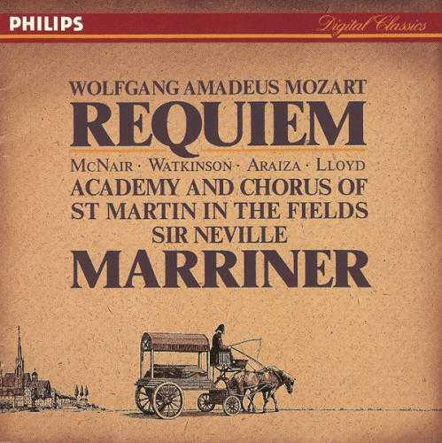 Marriner: Mozart - Requiem K. 626 (FLAC)