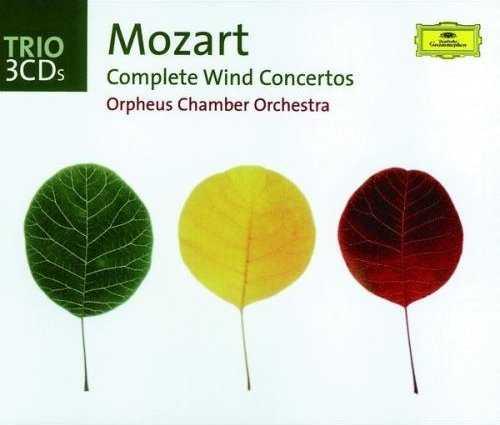 Mozart - Complete Wind Concertos (3CD, FLAC)